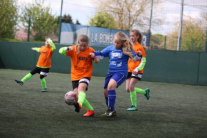 Summer School Games girls' football